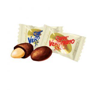 Migdaly w czekoladzie Vergnano