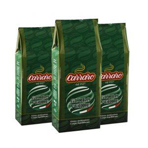 Caffe Carraro Globo Verde mielona
