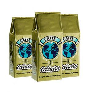 Caffe Carraro vending Globo Oro