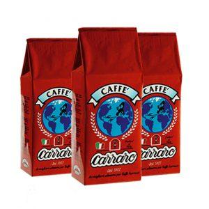 Caffe Carraro vending Globo Rosso